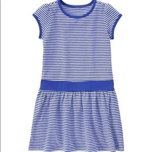 💙Gymboree Blue & White Striped Dress💙